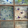 Abstract Stained Glass Window — Stock fotografie