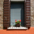 Exterior window. - Stock Photo