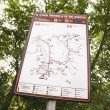 Map sign, Italy. - Stock Photo