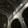 Cathedral of Siena interior. — Stock Photo
