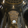 Interior Cathedral of Siena. - Stock Photo