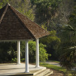 Gazebo in Park — Stock Photo
