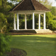 Gazebo in Park - Stock Photo