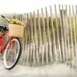 Bike at beach. — Stock Photo #9498693
