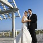 Wedding portrait. — Stock Photo