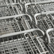 Shopping carts. — Stock Photo