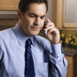 Businessman on cell phone. - Stockfoto