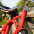 Red bicycle. — Stock Photo