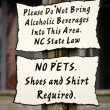 Rule signs. - Stock Photo