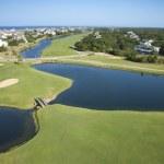 Coastal golf course. — Stock Photo #9499680