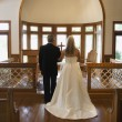 Church wedding. - Stock Photo