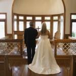 Church wedding. — Stock Photo