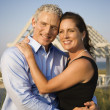 Portrait of Couple on Beach — Stock Photo #9499804