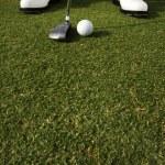 Golfer Putting — Stock Photo #9499870