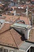 European rooftop view. — Stock Photo