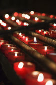 Church candles. — Stock Photo
