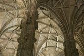Klasztor hieronimitów w lizbonie. — Zdjęcie stockowe