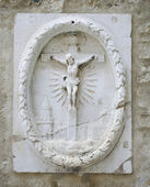 Relief of Crucifixion. — Stock Photo