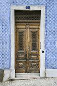 Drzwi zewnętrzne. — Zdjęcie stockowe