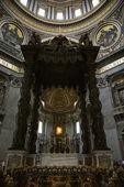 St. Peter's Basilica, Rome. — Stok fotoğraf