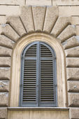 Arched window. — Stock Photo