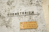 Coemeterium in Rome. — Stock Photo