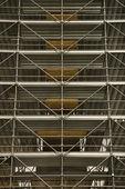 Steigers rond structuur. — Stockfoto