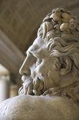 River Tiber sculpture. — Stock Photo