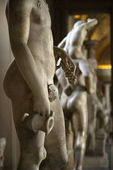 Nude sculptures, Rome. — Stock Photo