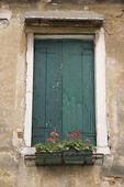 European window. — Stock Photo