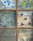 Abstract Stained Glass Window — Stock Photo