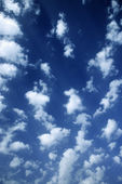 Clouds in blue sky. — Stockfoto