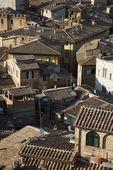 Siena, Italy rooftops. — Stock Photo
