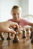 Chess game. — Foto Stock