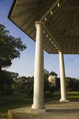 Gazebo in park. — Stock Photo