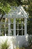 Garden arbor. — Stock Photo