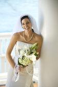 Portrait of bride. — Stock Photo