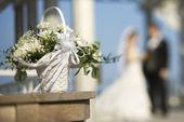 Bruiloft portret. — Stockfoto