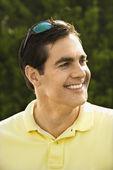Man smiling. — Stock Photo