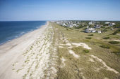 Coastal community. — Stock Photo
