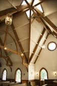 Church interior. — Stock Photo