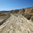 Royalty-Free Stock Photo: Dirt road in Death Valley.