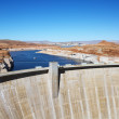 Glen Canyon Dam, Arizona. - Stock Photo
