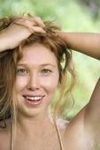 Portrét ženy. — Stock fotografie