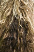 Long wavy hair. — Stock Photo