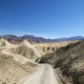 Dirt road in Death Valley. — Stock Photo