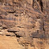 Red rock wall in Utah. — Stock Photo
