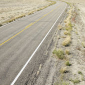 Road landscape in Utah. — Stock Photo