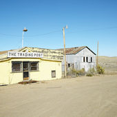 Old trading post. — Stock Photo