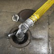 Stock Photo: Gas hose.
